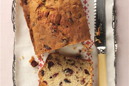 Cranberry Banana Bread