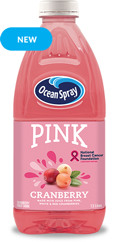 Pink Cranberry Fruit Drink
